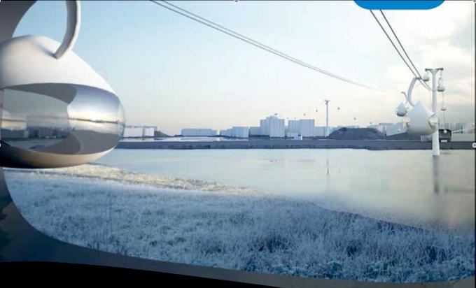 Visionen är Helsingforsregionens trafiks, HRT:s.